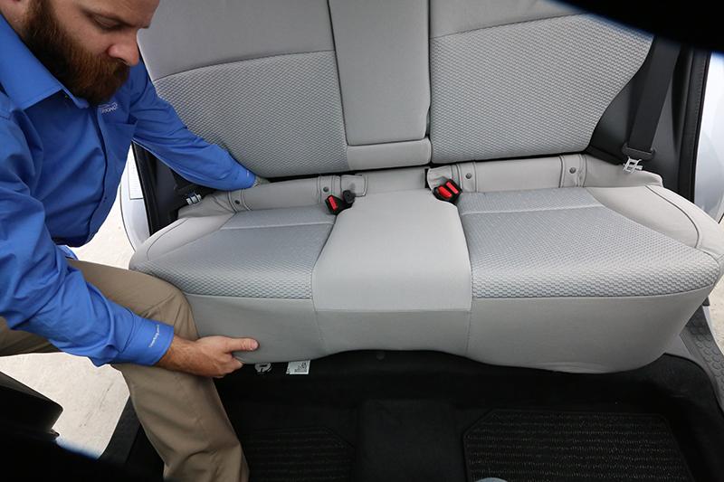 2014 2018 Subaru Forester Rear Sear Removal