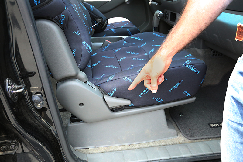 What Is A Fold Flat Passenger Seat Coverking Support
