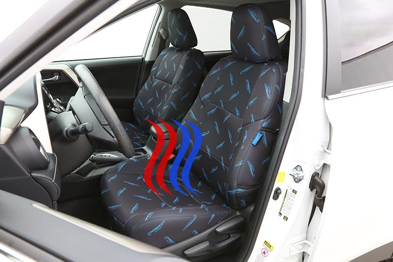 What Materials Work Best With Heated And Cooled Seats Coverking
